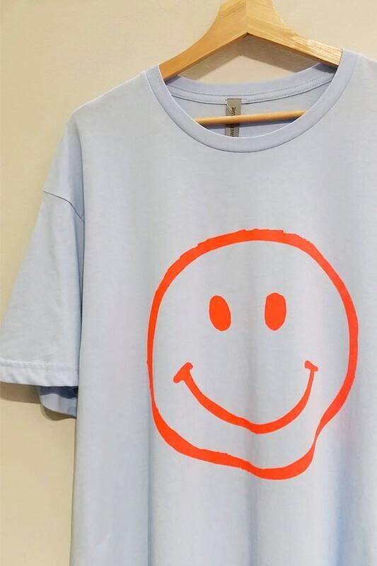 Neon Smiley Tee