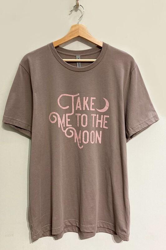 To The Moon Tee