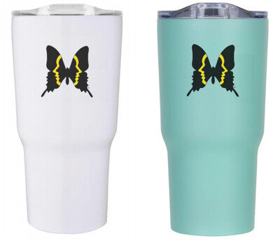 Inman Park Butterfly 20 oz. Insulated Tumbler