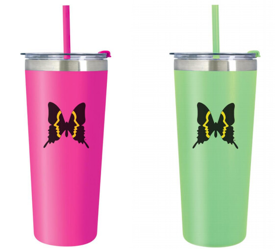 Inman Park Butterfly 24 oz. Insulated Tumbler