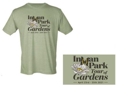 2021 Unisex Inman Park Tour of Gardens T-Shirt