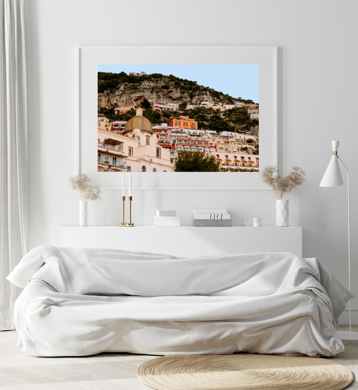 6. The Amalfi Coast, Italy Print