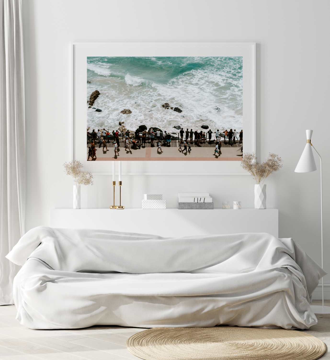2. Witness Cyclone Oma - Gold Coast Print