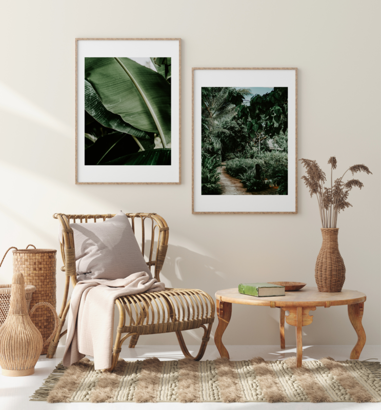 8. Ratua Island Leaves, Vanuatu Print Set