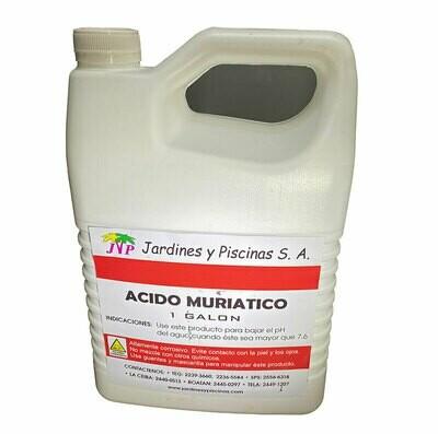 Acido Muriatico Galon Envasado. Precio sin ISV.