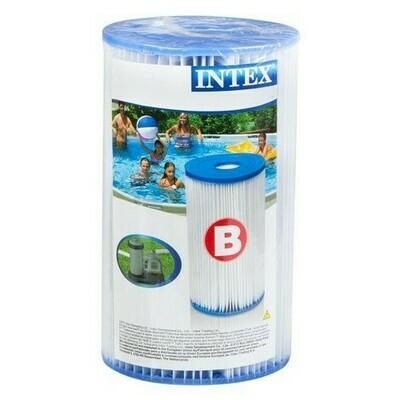 Cartucho de Repuesto para Filtro INTEX tipo B.