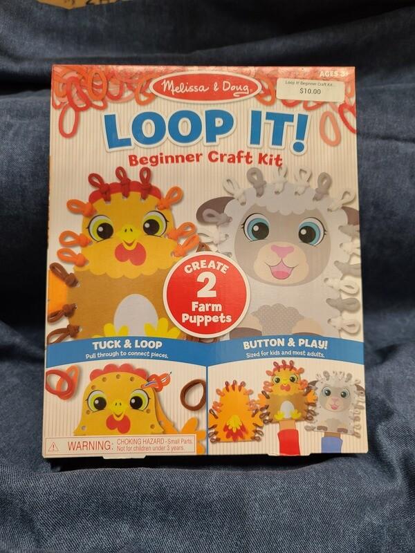 Loop It! Beginner Craft Kit-Farm