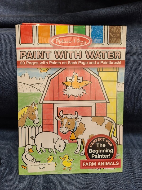 Farm Animal Paint With Water