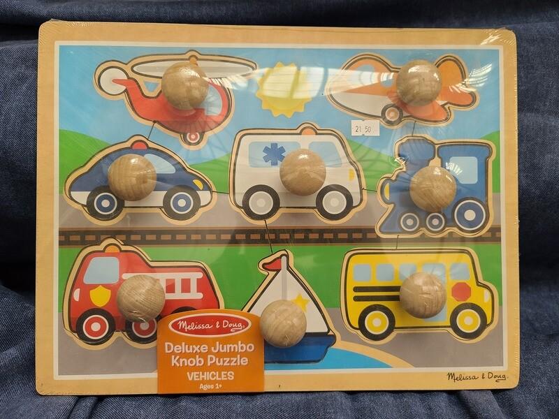 Vehicle Jumbo Knob Puzzle
