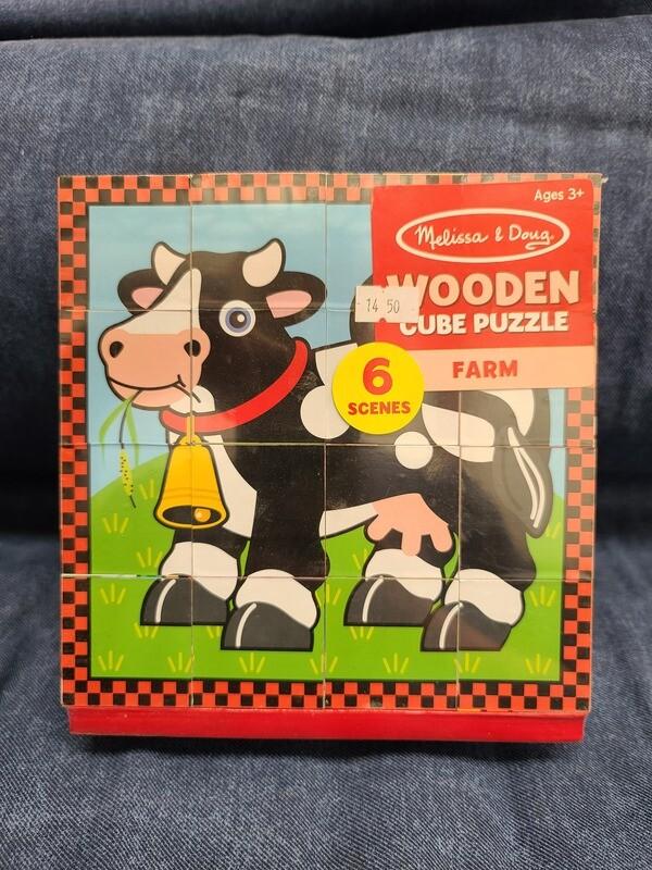 Puzzle Farm Cube