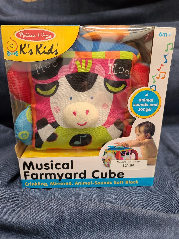 Musical Farmyard Cube