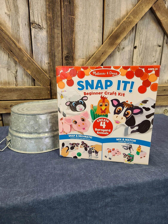Snap It! Beginner Craft Kit-Farm