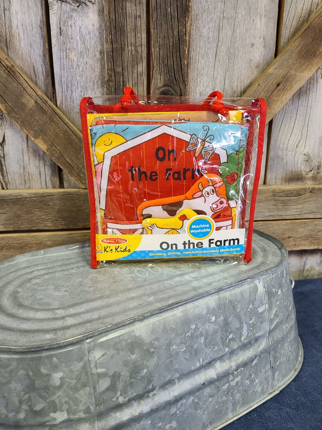 On The Farm-Soft Book