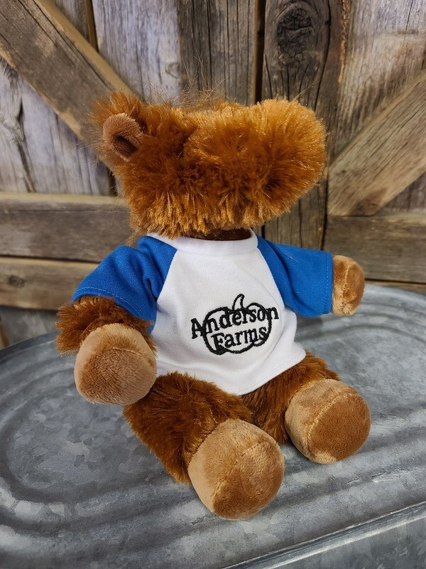 Pony with BLUE Anderson Farms Shirt