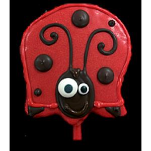 Rice Krispy Treat-Ladybug