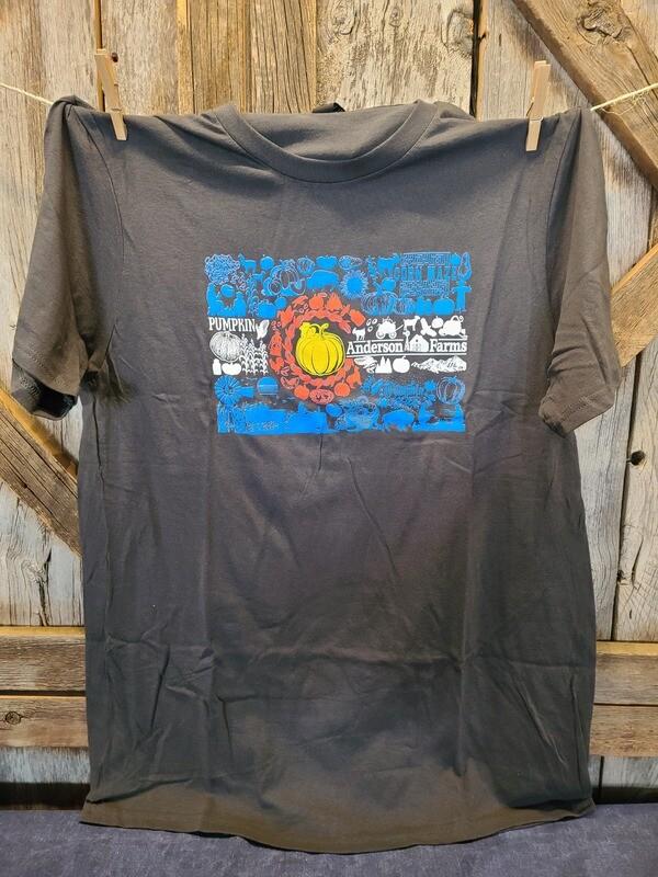 Gray Colorado Flag T-shirt-MEDIUM