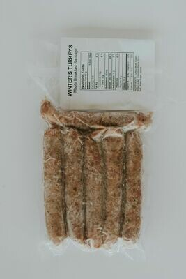 Turkey Maple Breakfast Sausage