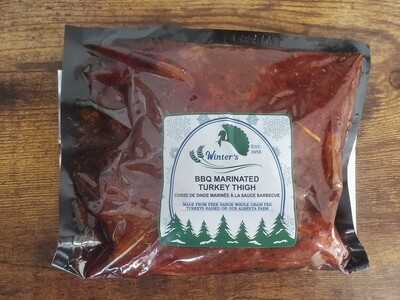 Marinated BBQ Turkey Thigh