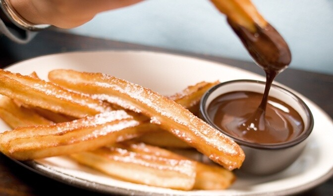 COMBO 1 [ CHURROS CON CHOCOLATE ] Sin Stock