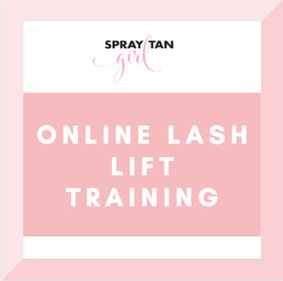 Online Lash Lift Training