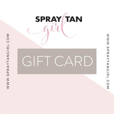 Spray Tan Girl Store Gift Card