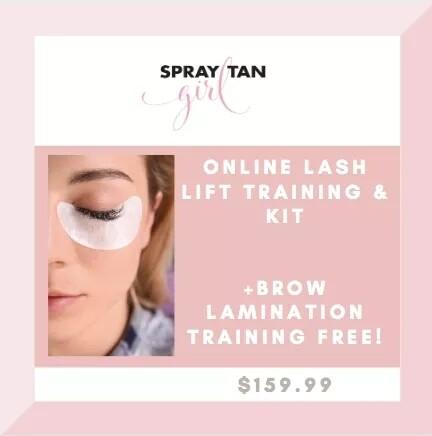 Lash Lift & Brow Lamination Training Combo