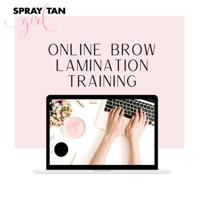 Brow Lamination Training