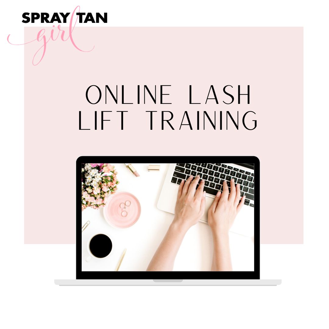 Online Lash Lift Training