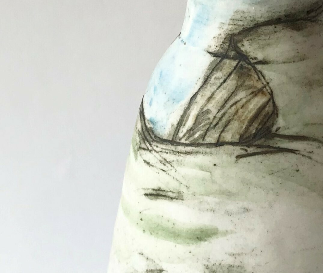 all at sea (vase)