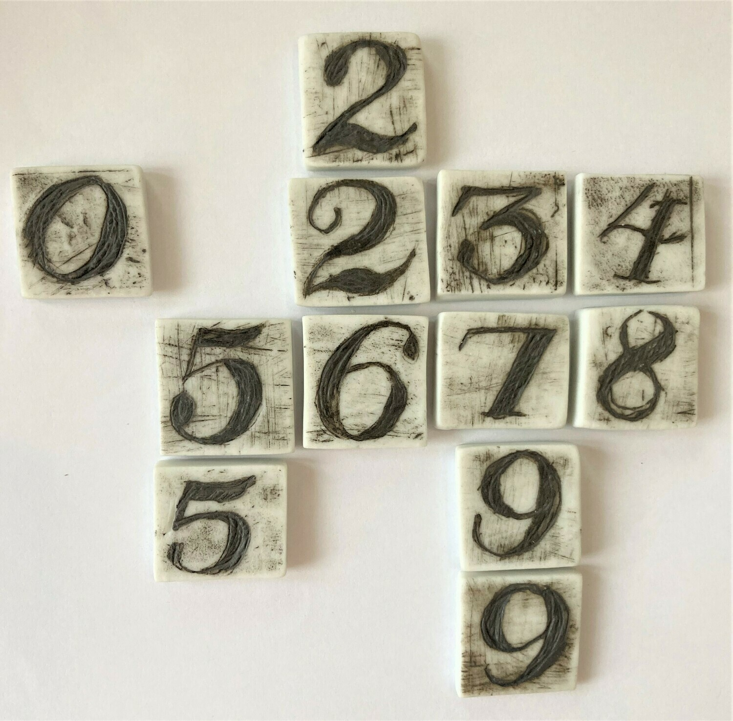 scrabble tile - numbers