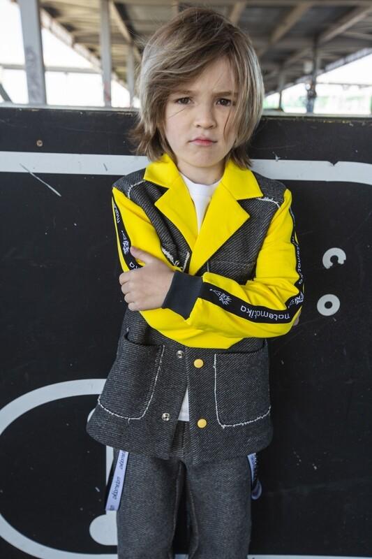 Пиджак в стиле спорт-шик