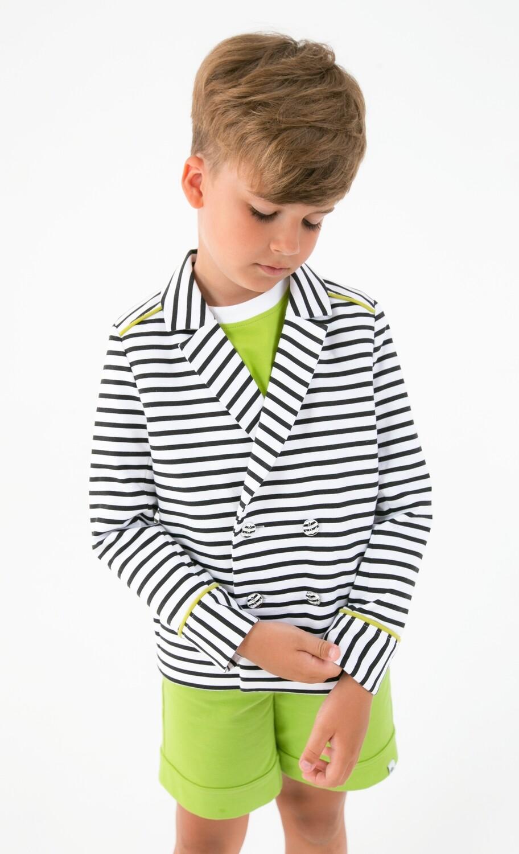 Пиджак в морском стиле