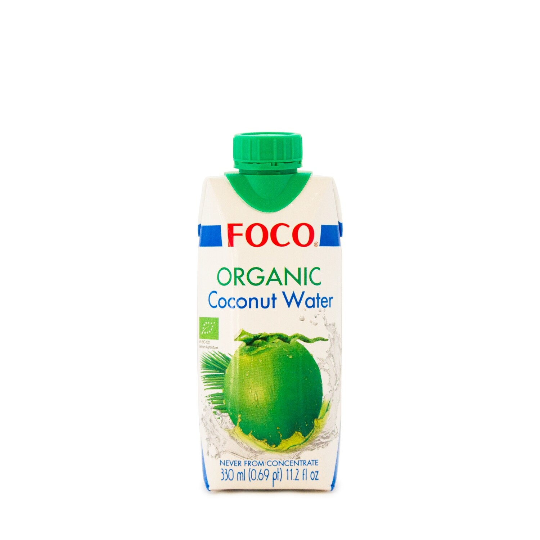 Органическая кокосовая вода