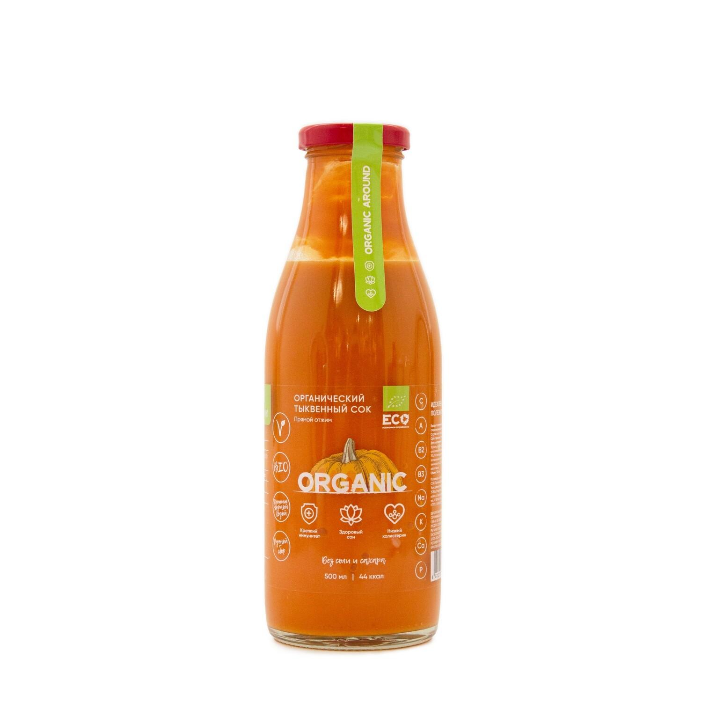 Органический тыквенный сок