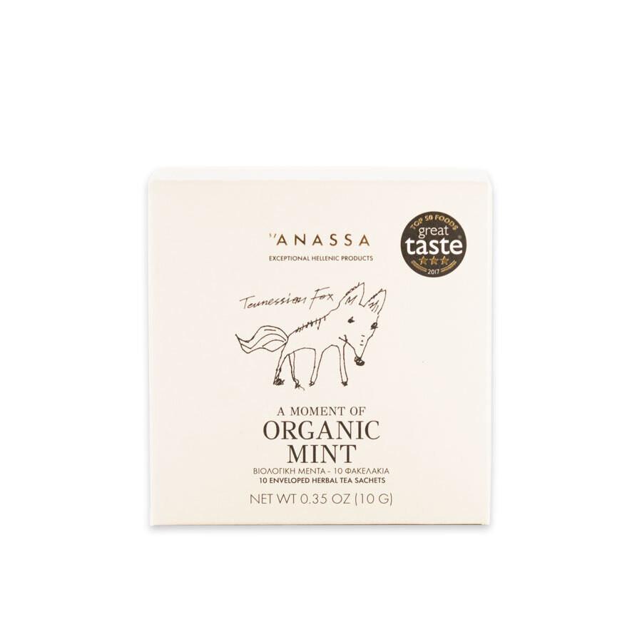 """""""Anassa Organics"""" Природная мята чай"""
