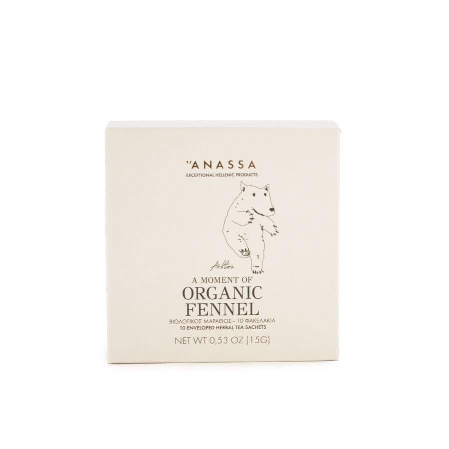 """""""Anassa Organics"""" Природный фенхель чай"""