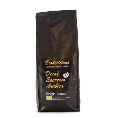 Кофе Decaf Espresso Arabica Organic
