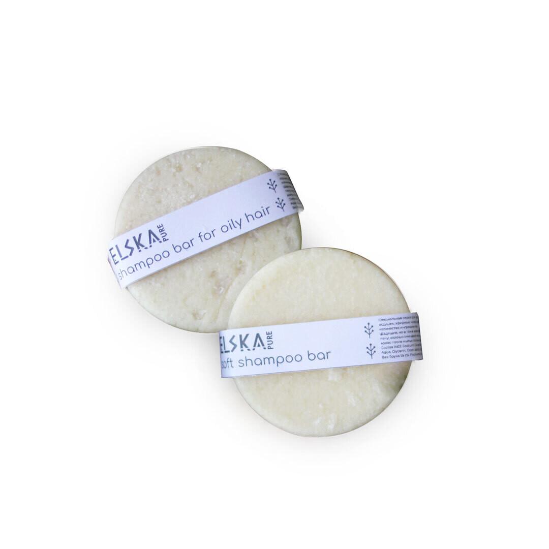 Шампунь Pure для тонких волос и чувствительной кожи Elska