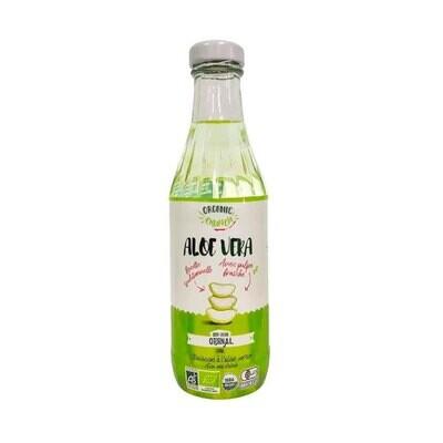 Органический напиток на основе алоэ вера ориджинал с кусочками алоэ, ORGANIC CRUNCH