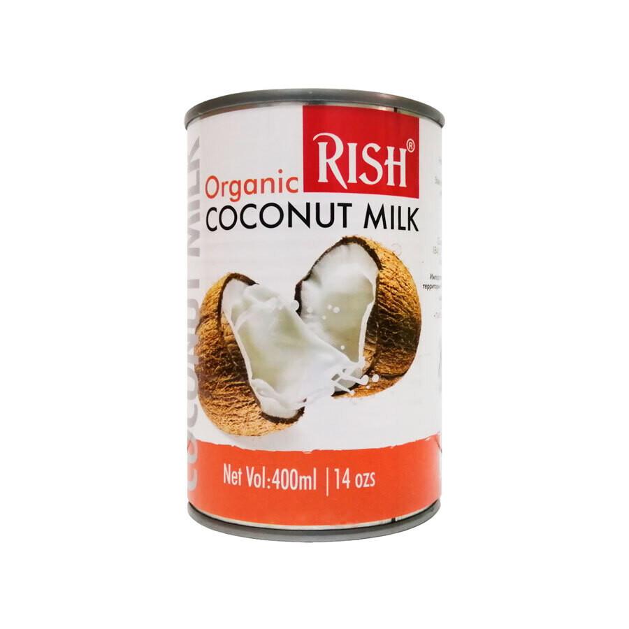 Органическое кокосовое молоко 17-19% жирности