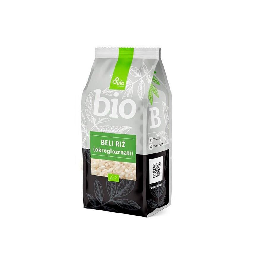Рис белый круглозерный Bufo Eko