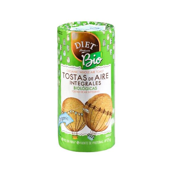 Органические цельнозерновые облегченные тосты
