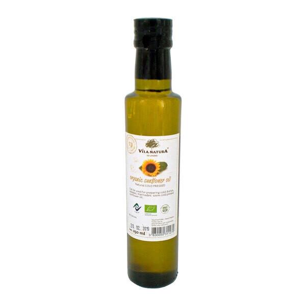 Органическое подсолнечное масло