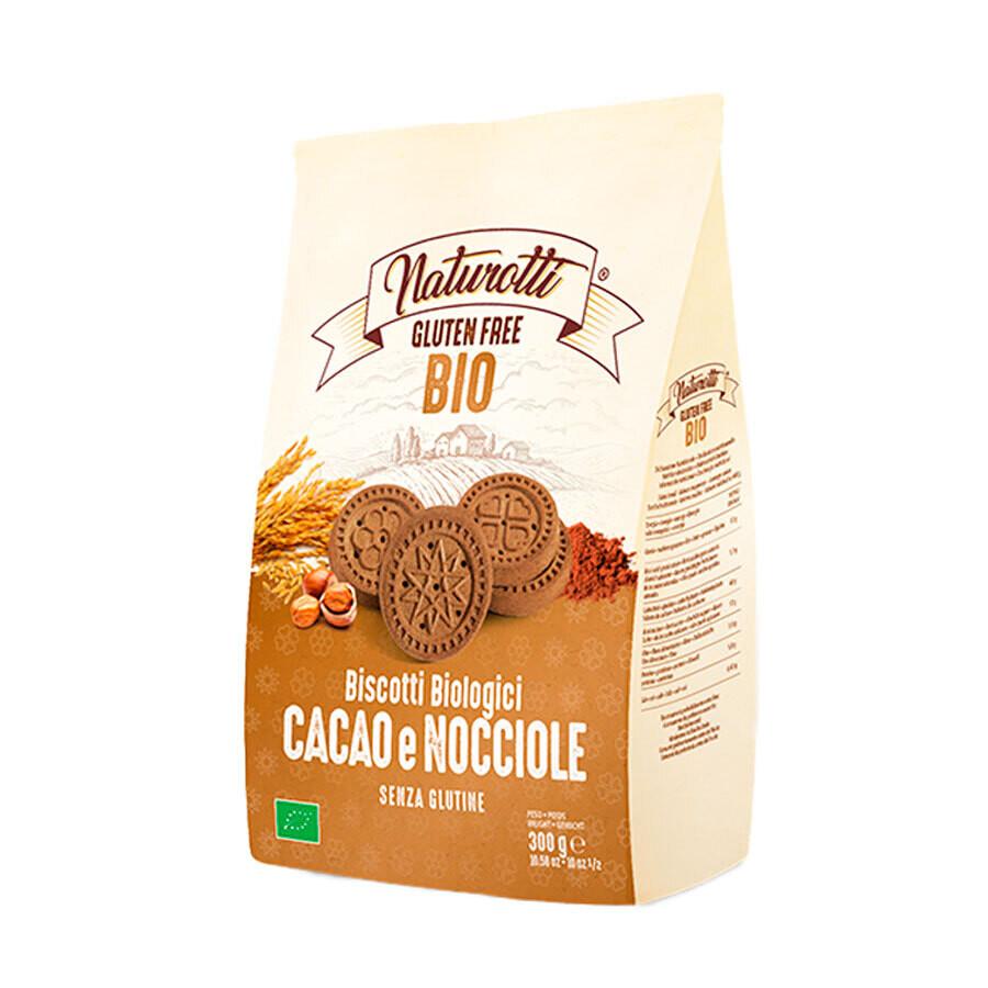 Печенье био с какао и орехами