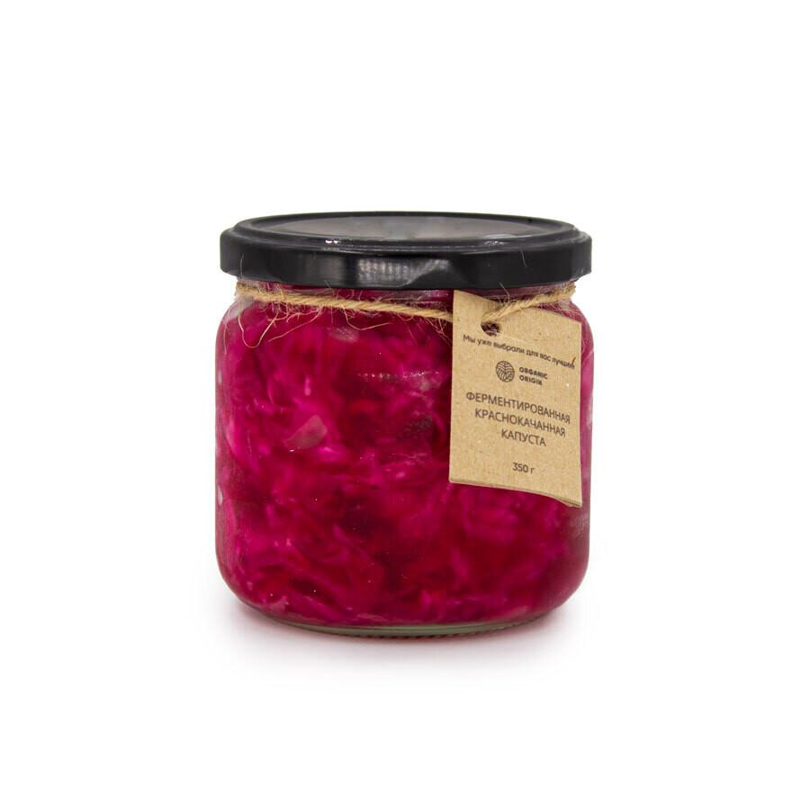 Ферментированная краснокочанная капуста
