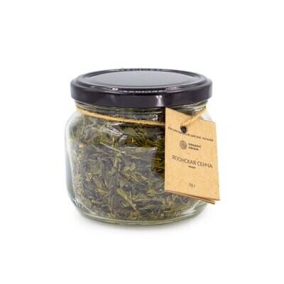 Зеленый чай Японская сенча органический