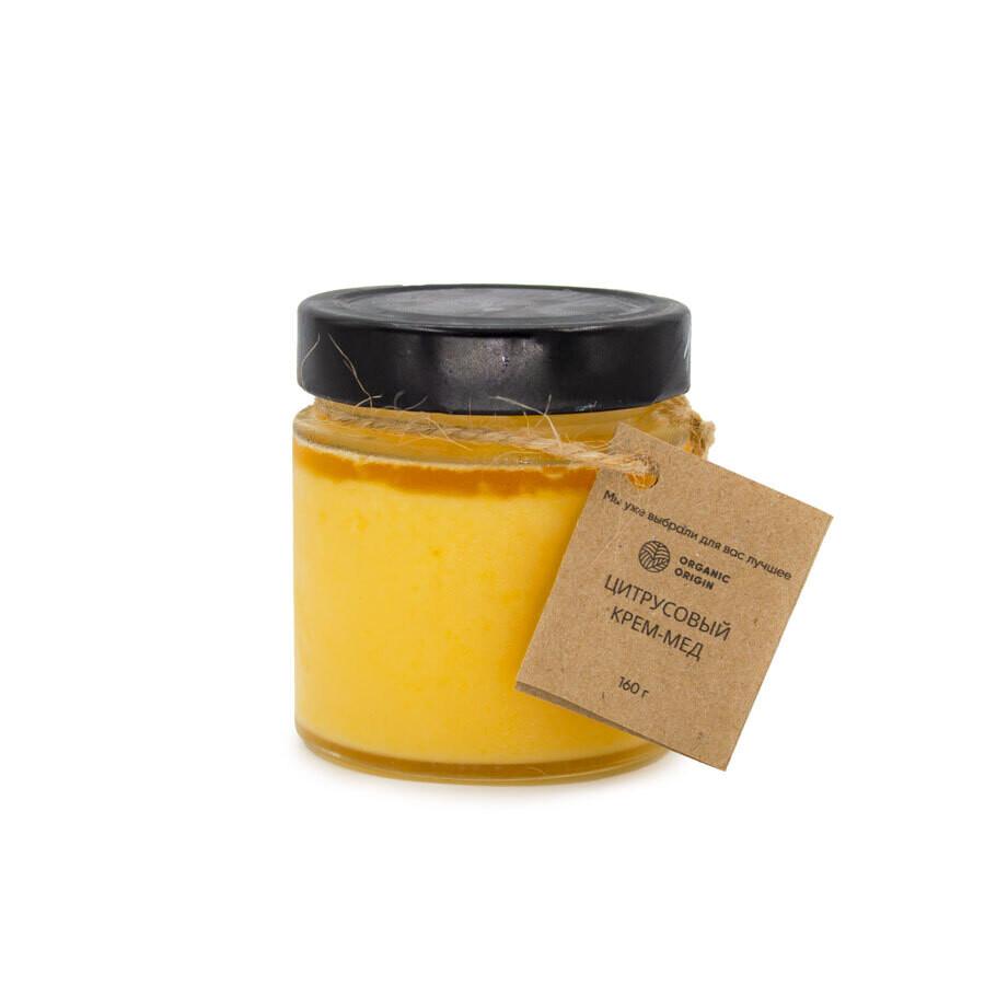 Цитрусовый крем-мед