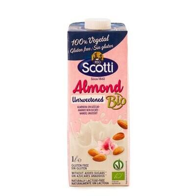 Органическое миндальное молоко несладкое