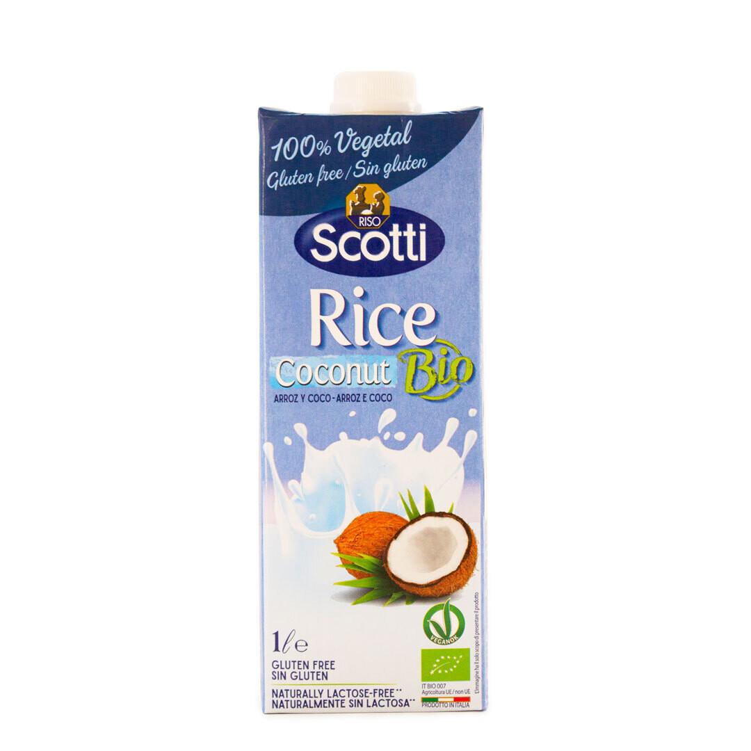Органическое рисовое молоко с кокосом