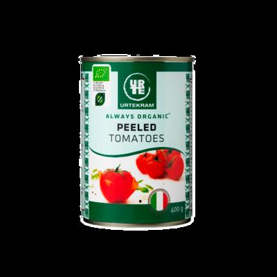 Очищенные томаты консервированные